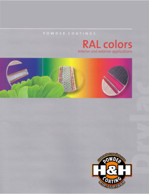 RAL Exterior and Interior Color Charts Link