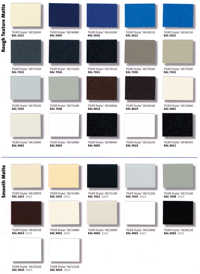 Ral Interior Color Chart Page1
