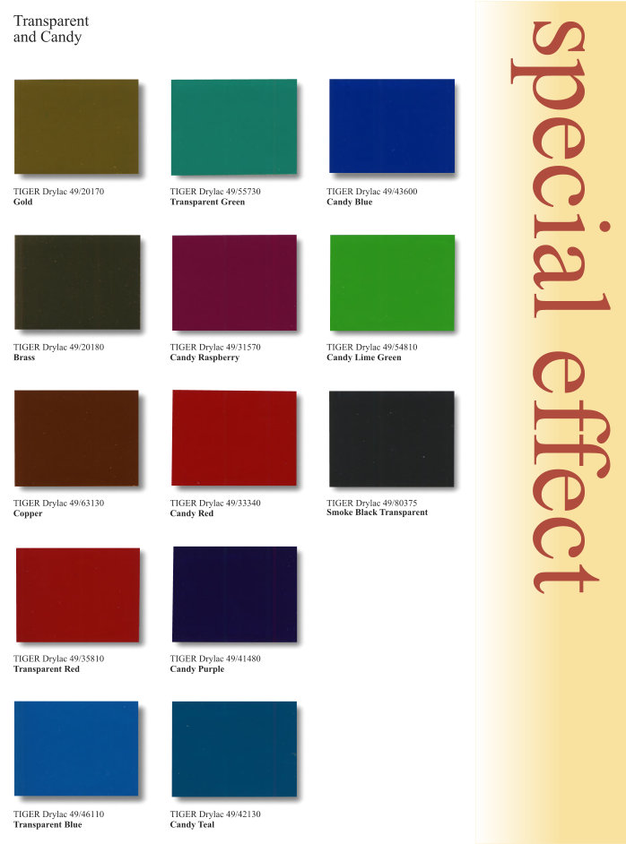 Special Effect Color Chart Page 4